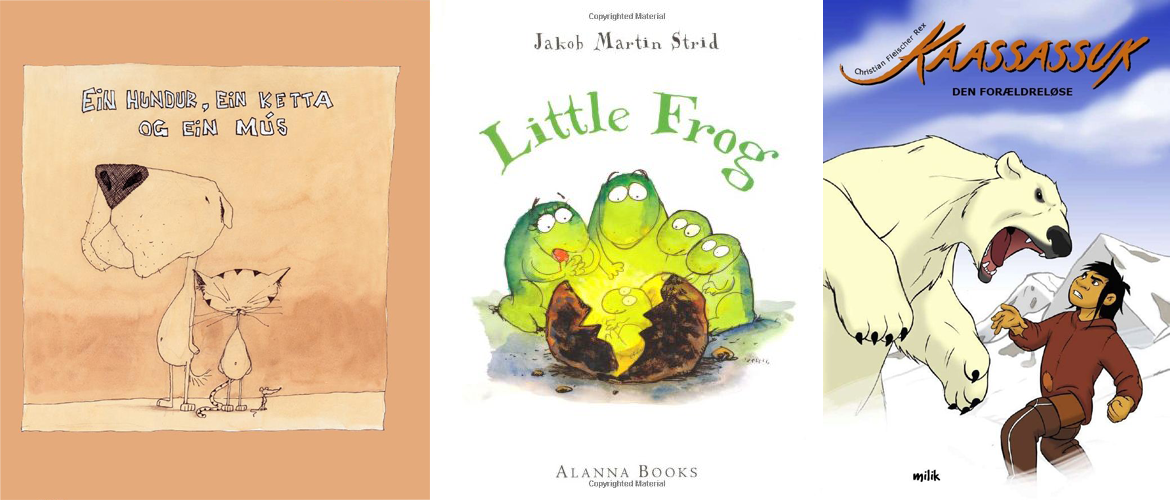 Front covers of books from Room for Children