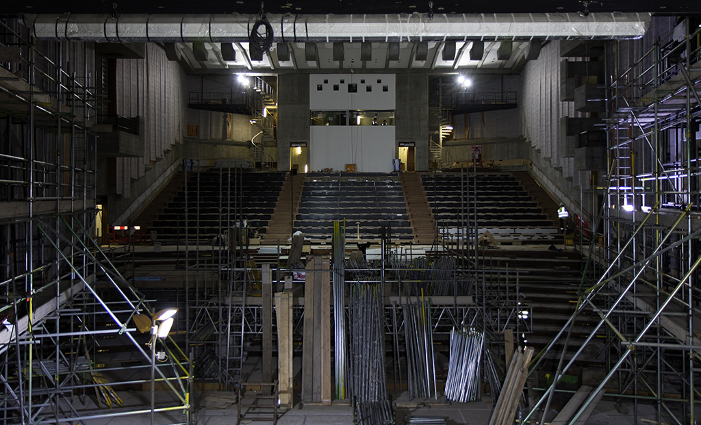 Queen Elizabeth Hall, Purcell Room and Hayward Gallery refurbishment - July 2017