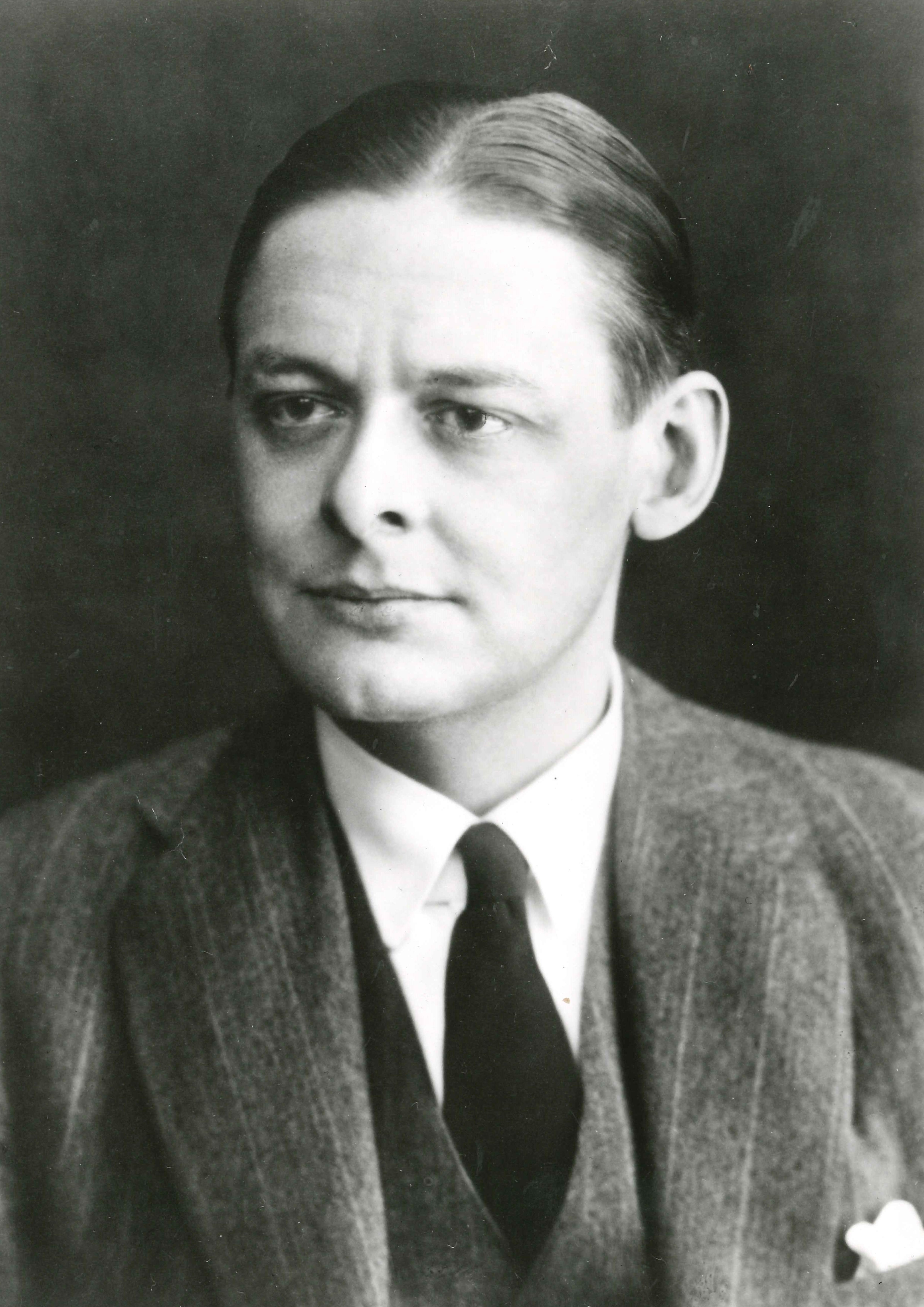 Portrait of Poet, TS Eliot