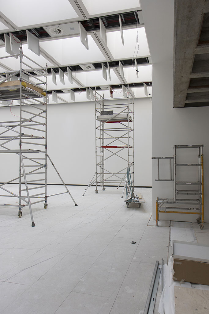 October 2017 - refurbishment of Hayward Gallery, Queen Elizabeth Hall and Purcell Room. Gallery 4.
