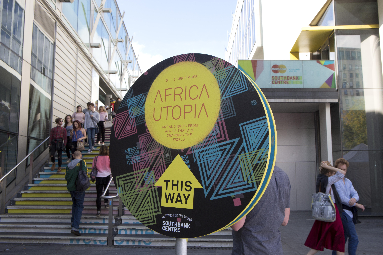 Africa Utopia Sign