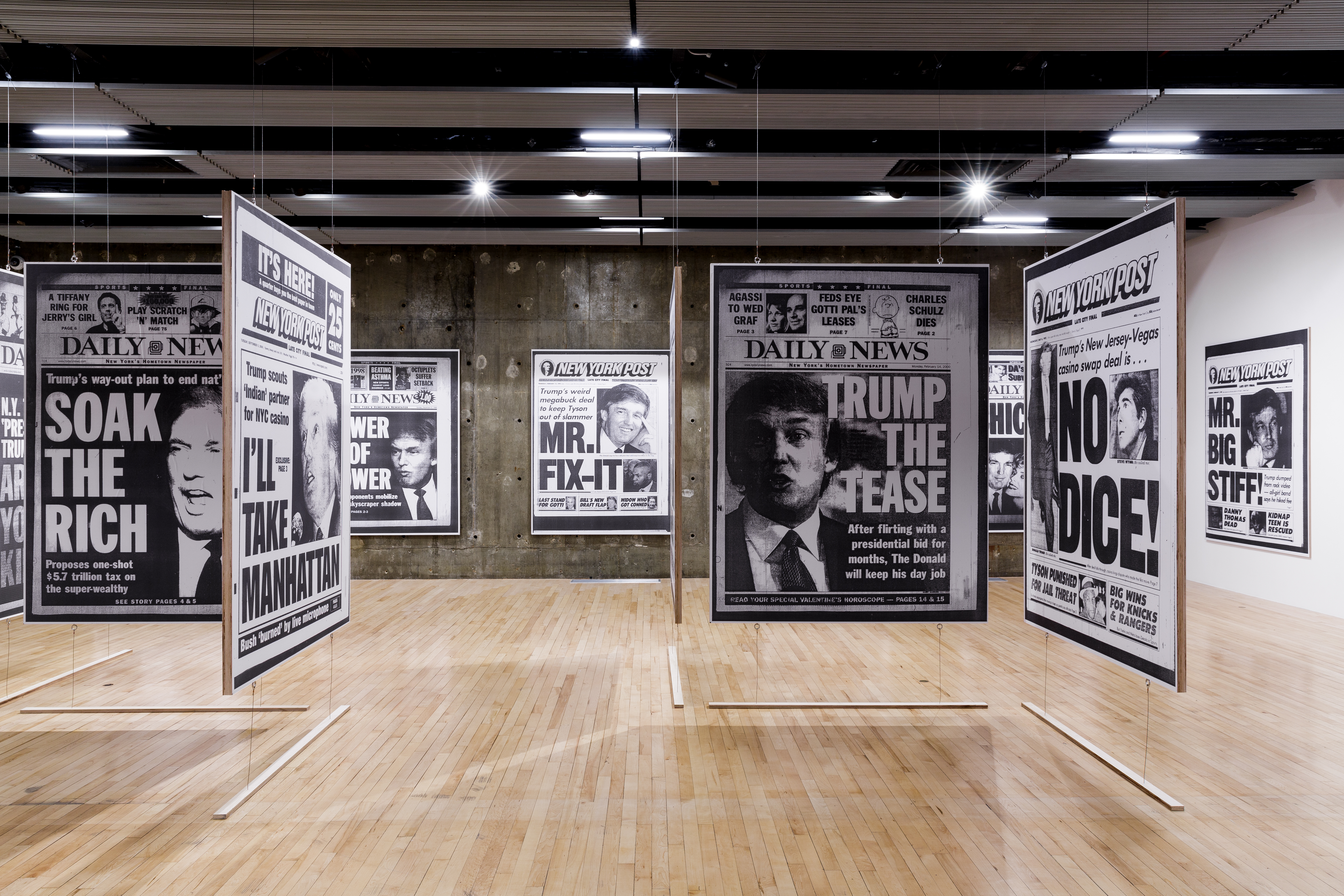 Aleksandra Mir presents the Pre-Presidential Library