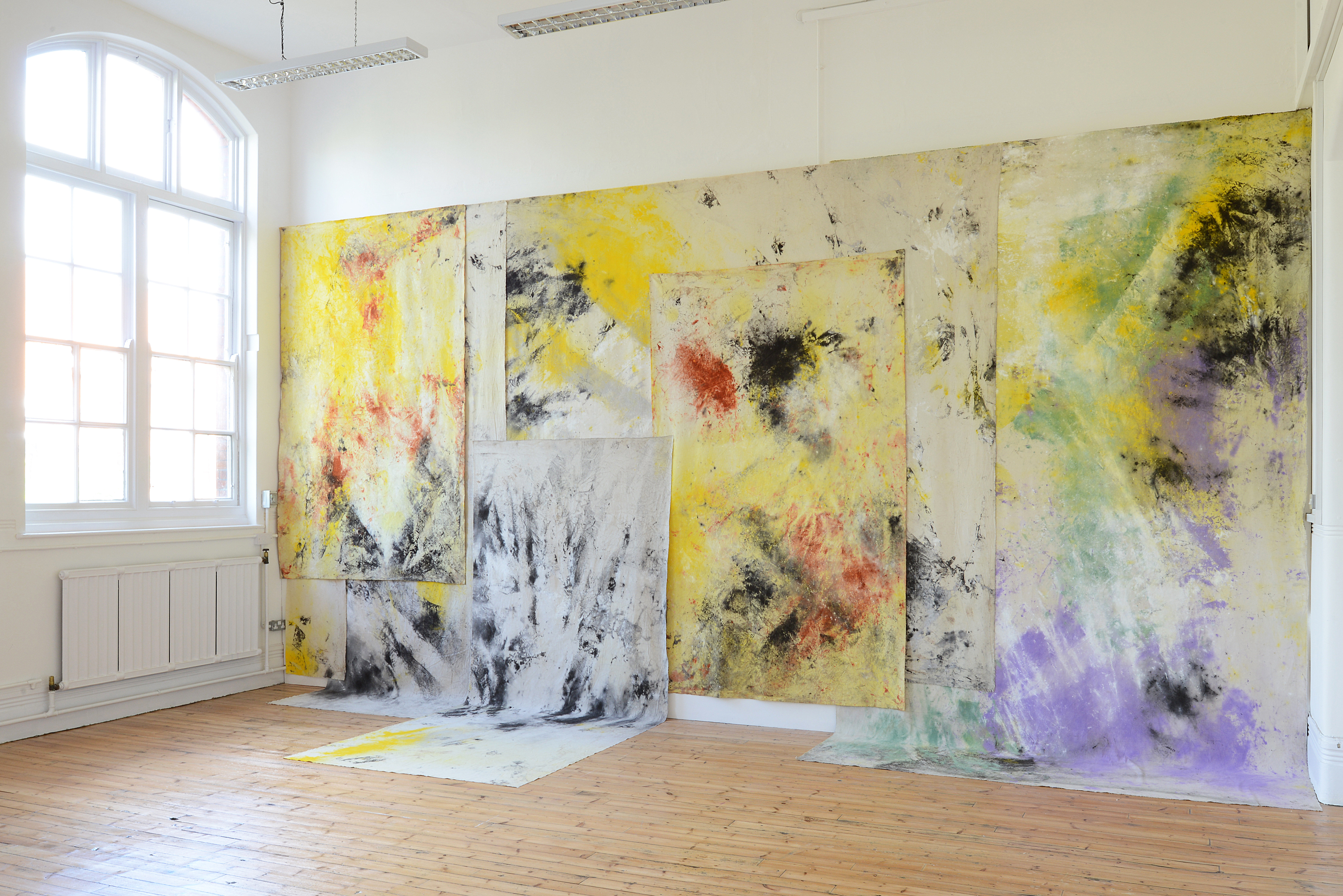 Jessica Warboys, Sea Paintings Spurn Point, Skateraw Bay, Dunwich ...